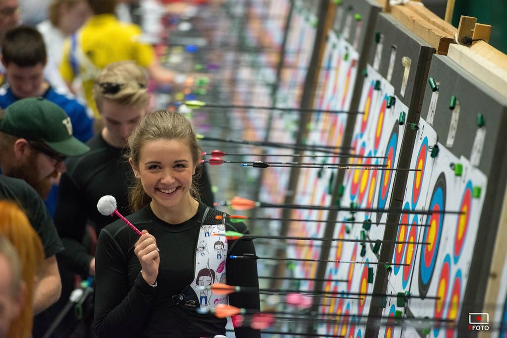 Natasja Bech ved DM2015 i Taastrup. Fotograf: Kaj Frandsen