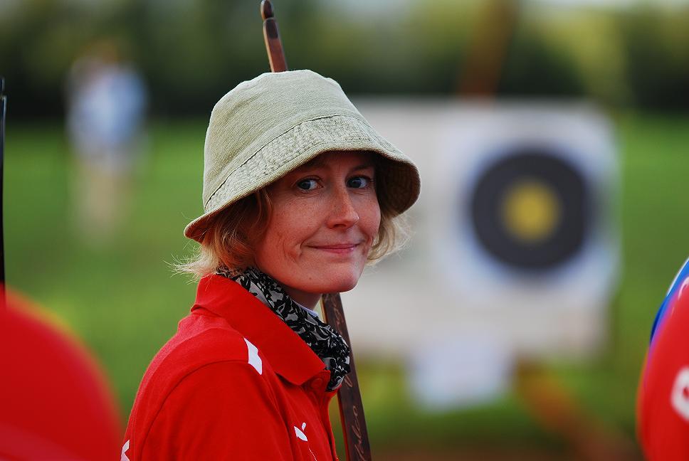 Tanja Dinesen Skudstrup ved VM i 3D i 2013