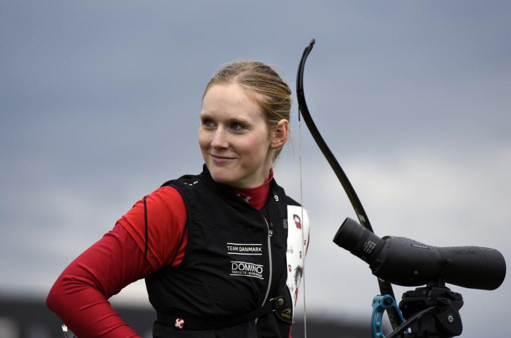 Kvalifikation. Carina Rosenvinge Christiansen (DEN), Recurve Foto: Lars Møller