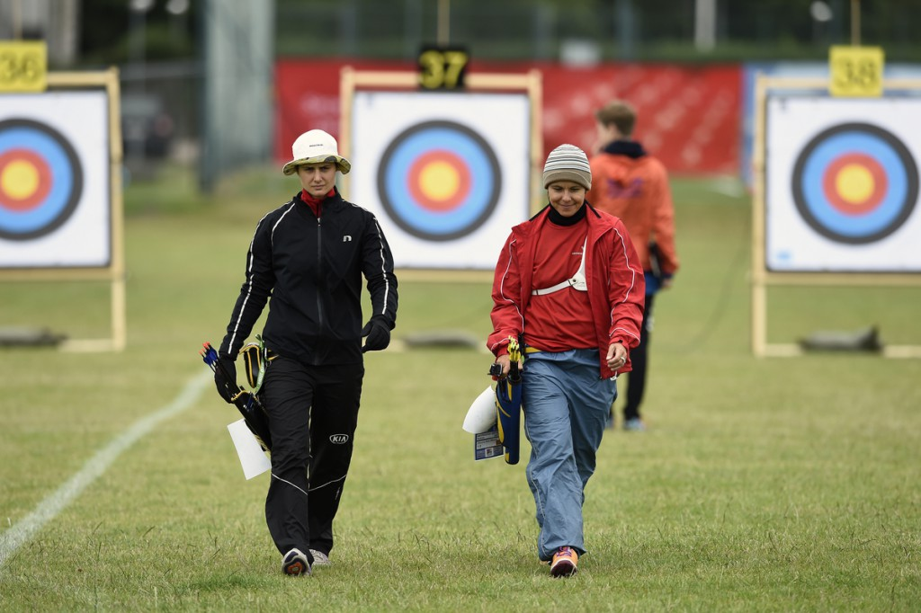 DK caption:  20150727, København, Danmark: VM i Bueskydning 2015. Kvalifikation. Maja Jager (DEN), Recurve Foto: Lars Møller UK caption: 20150627, Copenhagen, Denmark: World Archery Championships 2015. Qualification. Maja Jager (DEN), Recurve Foto: Lars Møller