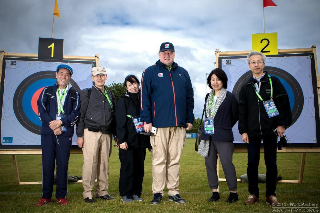 Kommende OL-værter roser Københavns ikoniske VM-set up - foto - World Archery