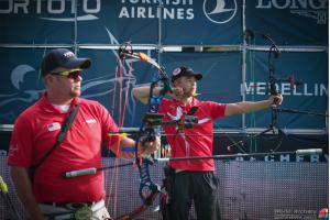 Stephan Hansen og Reo Wilde WC4 2015, World Archery